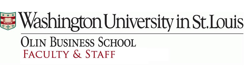 Faculty and Staff | Olin Business School at Washington University in St. Louis
