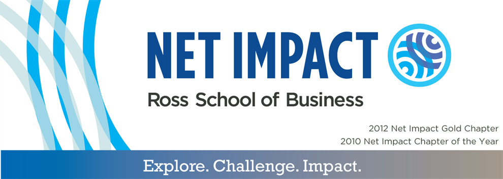 Ross Net Impact | Michigan Ross School of Business