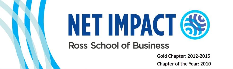 Net Impact @ Ross | Michigan Ross School of Business