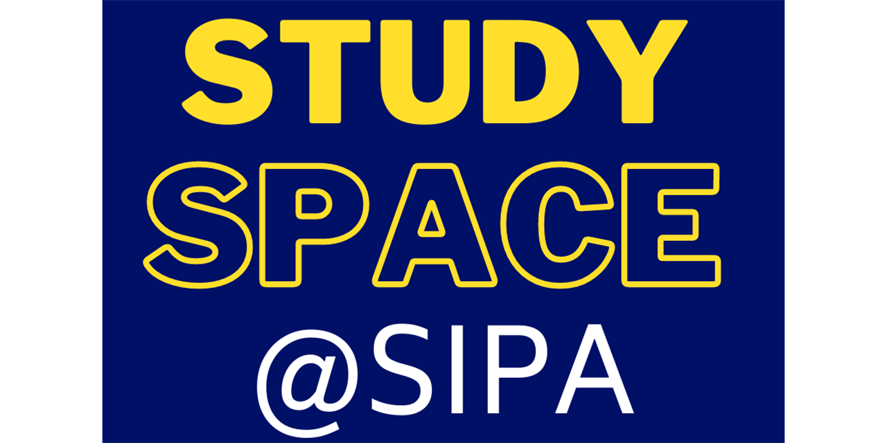 Book Study Space at SIPA Event Logo
