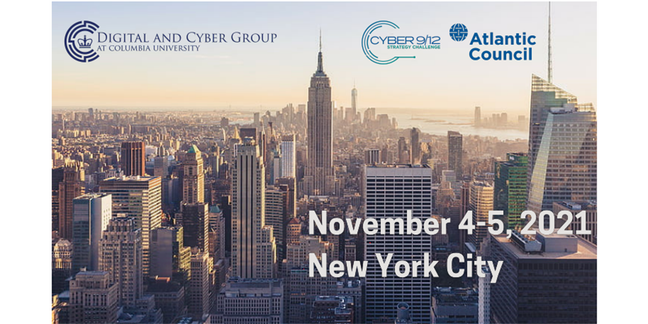 New York Cyber 9/12 Strategy Competition Event Logo