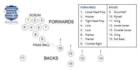 YGRFC - Forwards & Backs Positions